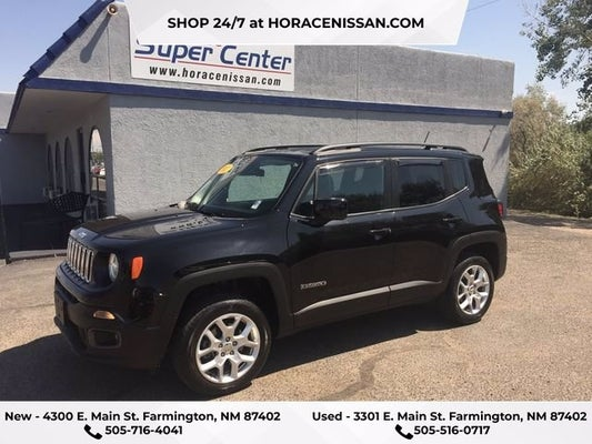 2017 Jeep Renegade Latitude Farmington Nm Durango Co Aztec